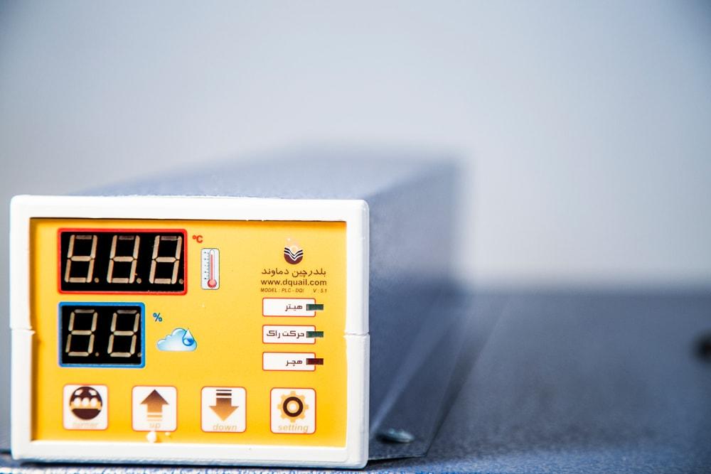 سیستم کنترل دستگاه جوجه کشی 84 عددی