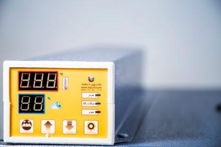 سیستم کنترل دستگاه جوجه کشی 126 عددی